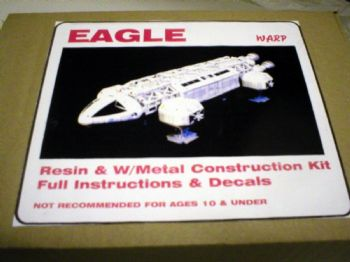 Space 1999 Eagle Transporter GRP Model Kit By Warp Models